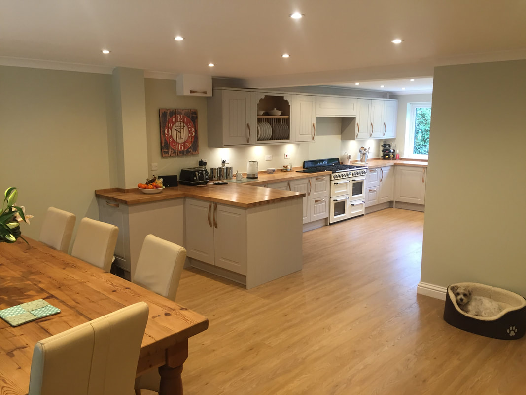 M t andrew son building services m t andrew son building services andover Kitchen design and fitting